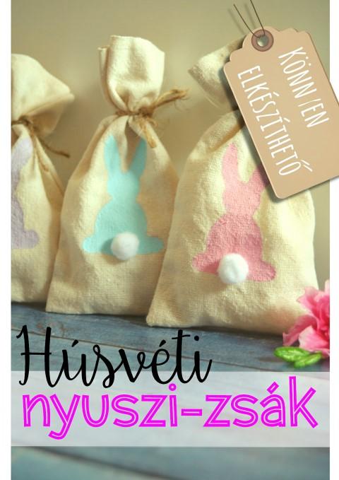 Húsvéti nyuszi-zsák